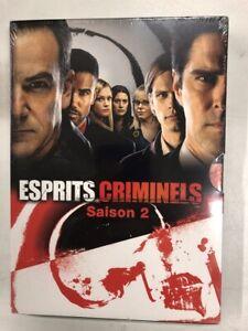 esprit criminels saison 2 Coffret 6 DVD + bonus neuf sous blister c29