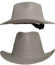 Occunomix Vulcan Series Cowboy Style Hard Hat w/ Ratchet Suspension - GRAY
