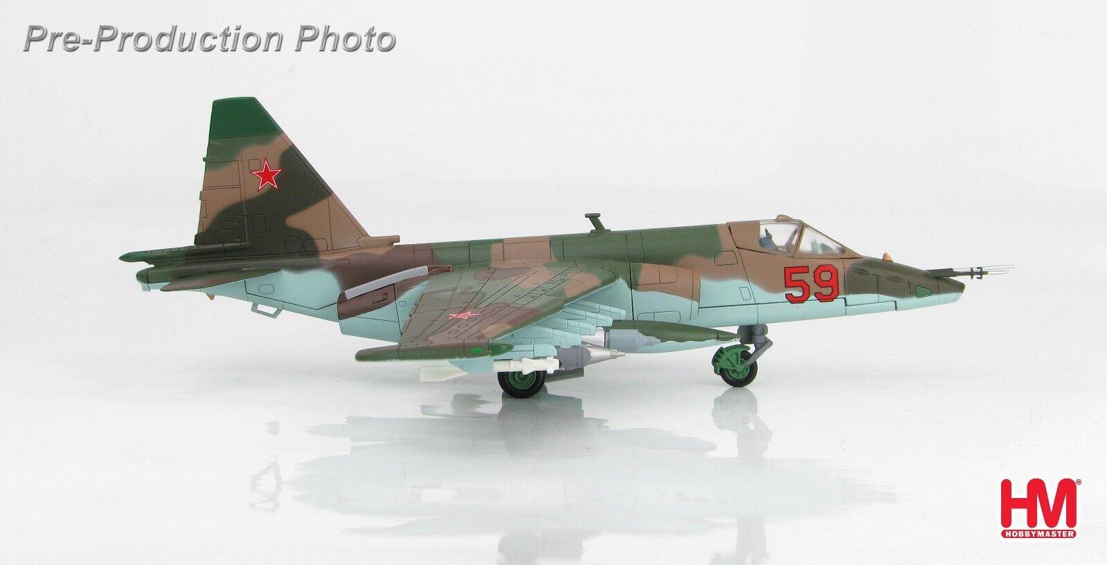Hobby Master HA6103 Su-25  Frogfoot  rosso 59, 378. oshap, VVS, URSS conectado a un