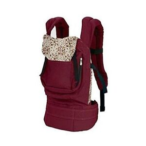 Cotton-Baby-Carrier-Infant-Comfort-Backpack-Buckle-Sling-Wrap-Fashion-Red