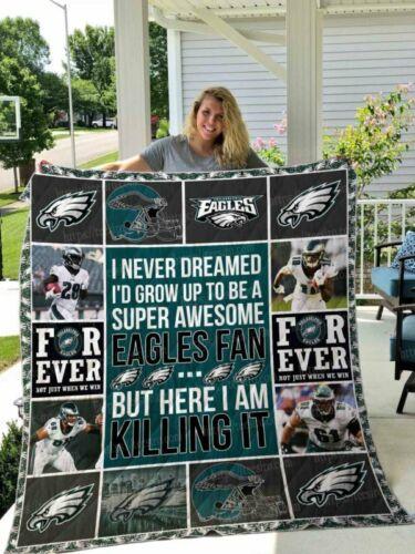 Philadelphia Eagles quilt blanket 01