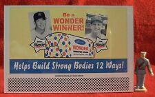 WONDER BREAD (MANTLE/MUSIAL)  #63___O/S SCALE TINPLATE BILLBOARD