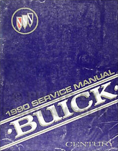 1990 century custom service and repair manual
