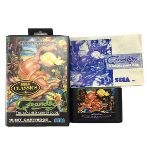 Sega Mega Drive Classics Greendog The Beached Surfer Dude Game Complete OZI SOFT