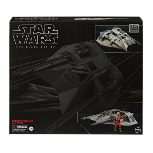 Star Wars The Black Series Rebel Snowspeeder et Dak Ralter PRE-COMMANDE