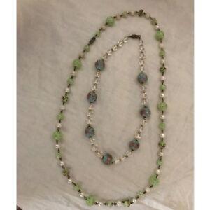 nuovo aspetto acquisto genuino chiaro e distintivo Dettagli su Due Stupende collane vintage con murrine antiche / MURANO