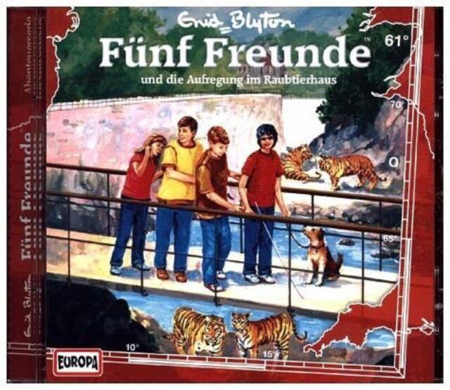 CD * FÜNF FREUNDE - HÖRSPIEL / CD 61 - AUFREGUNG IM RAUBTIERHAUS # NEU OVP =