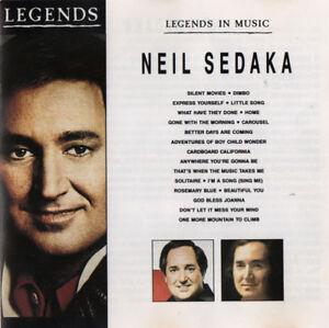 NEIL-SEDAKA-LEGENDS-IN-MUSIC-ULTRA-RARE-CD-like-NEW