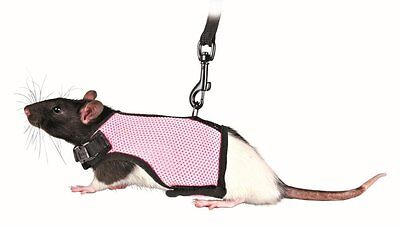Trixie 61511 Harness for Small Animals for Rats Nylon 12 - 18 cm