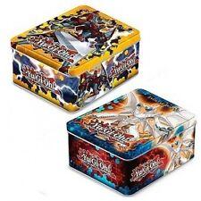 YUGIOH 2012 Set of 2 tins Evolzar Dolkka & Heroic Champion Excalibur Tin SEALED!