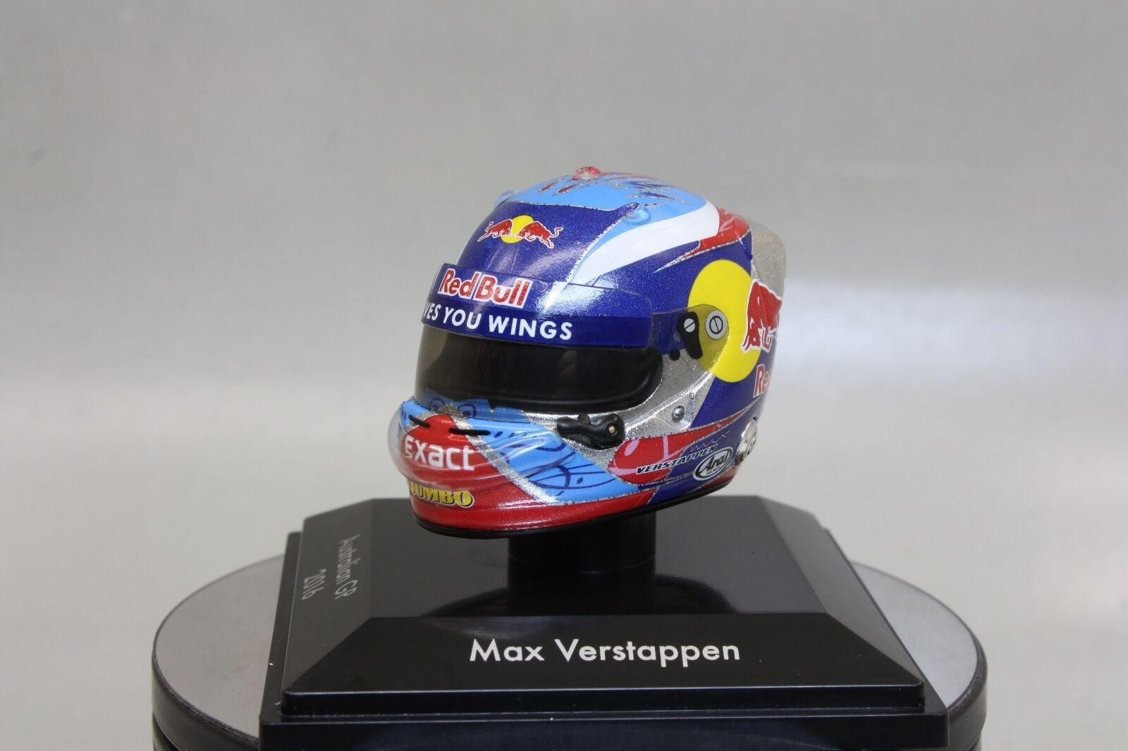 Max Verstappen 1 8 Helmet Australia Grand Prix 2016 Special Edition Tgold red