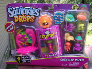 Squinkies-039-Do-Drops-14-Piece-Collector-Pack-with-Hidden-Squinkie-amp-Display-Stand