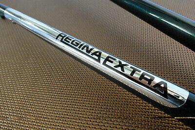 Regina Extra Vintage retro Chrome Vinyl Chainstay sticker decal for frame chains