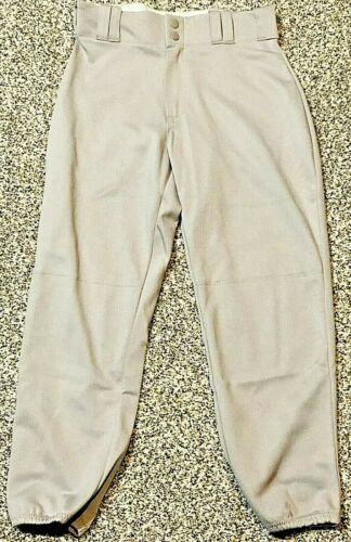 Women/'s Gray Low Rise Softball Pants Size Small Alleson Athletics Fastpitch NEW