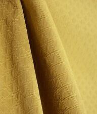 Gold Diamond Matelasse Fabric Barrow M8115 Maple