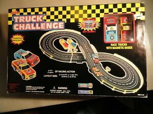 """ NEW "" ARTIN TRUCK CHALLENGE ITEM NO. 10120B NEW IN BOX  2-RACING TRUCKS"