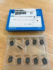 ISCAR GTR 4.8-4D IC354 INSERTS PACK OF 10