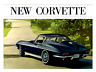 CORVETTE 1963 Sales Brochure 63 Vette