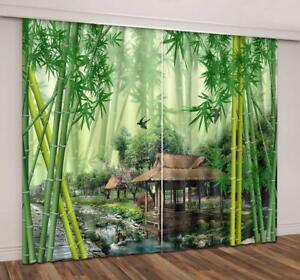 The Great Wall China 3D Blockout Photo Printing Curtains Draps Fabric Window