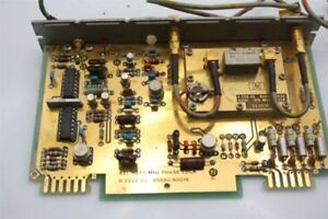Business & Industrial Open-Minded Hp Agilent 8672a 275 Mhz Phase Lock Board Card 85680-60016 Reliable Performance