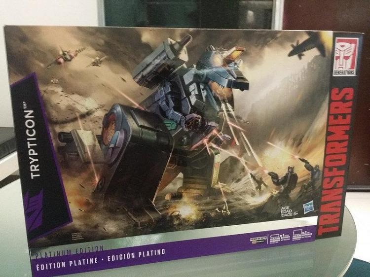 Transformers Hasbro G1 Réédition édition Platinum Trypticon BRAND  nouveau  magasin fashional à vendre