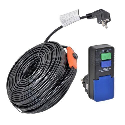49m VOSS Heizkabel IPX7 Frostschutz Begleitheizung FI-Schalter selbstregelnd