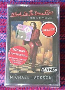 Michael Jackson ~ Blood On The Dancefloor ( Malaysia Press ) Cassette