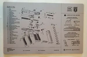 """Glock Armorers Bench Mat Cleaning Mat 11/""""x17/"""" Armorers Bench Mat Gaming MouseMat"""