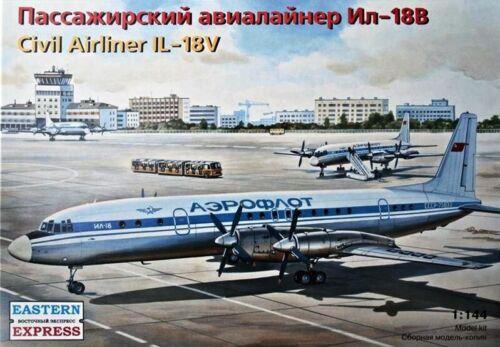 EASTERN EXPRESS 14466 144 Civil Aircraft IL-18V Export Version CSA Bausatz