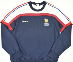 1985-1990-FRANCE-ADIDAS-VENTEX-FOOTBALL-JUMPER-SIZE-M