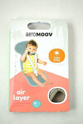 Gr 1 Bio Baumwolle AEROMOOV Air Layer Sitzeinlage verhindert dass Ihr Kind schwitzt Sand