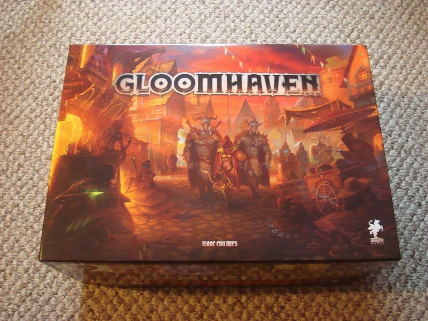 GLOOMHAVEN WITH SOLO SCENARIOS LIMITED EDITION