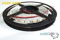 12vdc Smd5050 Led Strip 2200k-2400k, 5m (72w, 300leds), Ip20, 60leds/m, 14.4w/m