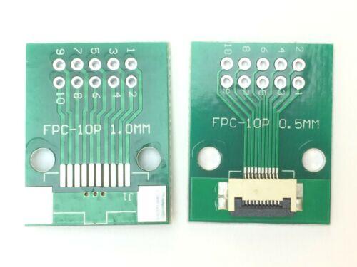 FFC Adaptateur carte sur RM 2,54 mm0,5 mm10-60 veineslimandes FPC
