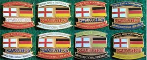 England-v-Germany-Friendly-International-22-August-2007-Wembley-Pin-Badge