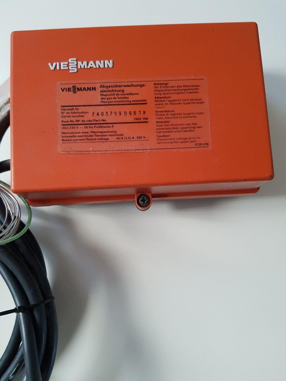 Viessmann 7403 759 - Abgasüberwachungs-einrichtung - 7403759 - Abgasüberwachung Abgasüberwachung Abgasüberwachung 89fa6f