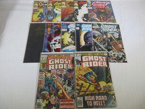 Marvel-Comics-Ghost-Rider-lot-12-Bronze-amp-Copper-Vol-1-Vol-2-Annual-2099