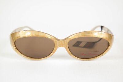 Brillante Vintage Paloma Picasso 8866 878 54 [] 15 Marrone Ovale Occhiali Da Sole Sunglasses Nos-mostra Il Titolo Originale