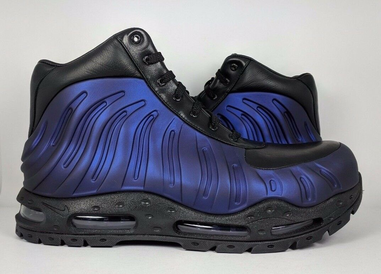 Nike air max foamdome boot uomini foamposite boot foamdome melanzana viola sz 9 [843749-500] fbb3a5