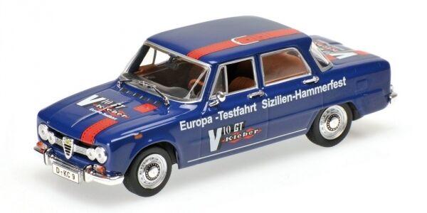 Illuminez le cadeau de Noël en Irak. Alfa Romeo Giulia Blue Europa 1970 1:43 Model MINICHAMPS | Perpignan  | Se Vendant Bien Partout Dans Le Monde  | La Réputation D'abord  | Big Liquidation