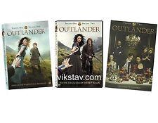 OUTLANDER: COMPLETE SEASON 1 Vol. 1 & 2 and Season Two 2 DVD NEW