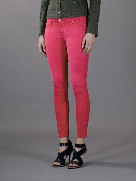 IRO Pink  Skinny Jeans pants     size 26