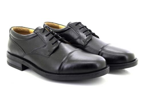 Roamers M247A Capped Gibson Leather Fuller Wide Fitting Shoes