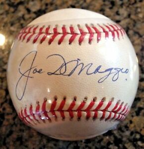 JOE-DIMAGGIO-New-York-Yankees-single-signed-OAL-Gene-Budig-Baseball-YCE-COA