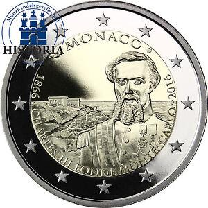 Monaco-2-Euro-2016-PP-150-Jahrestag-der-Gruendung-Monte-Carlos-durch-Charles-III
