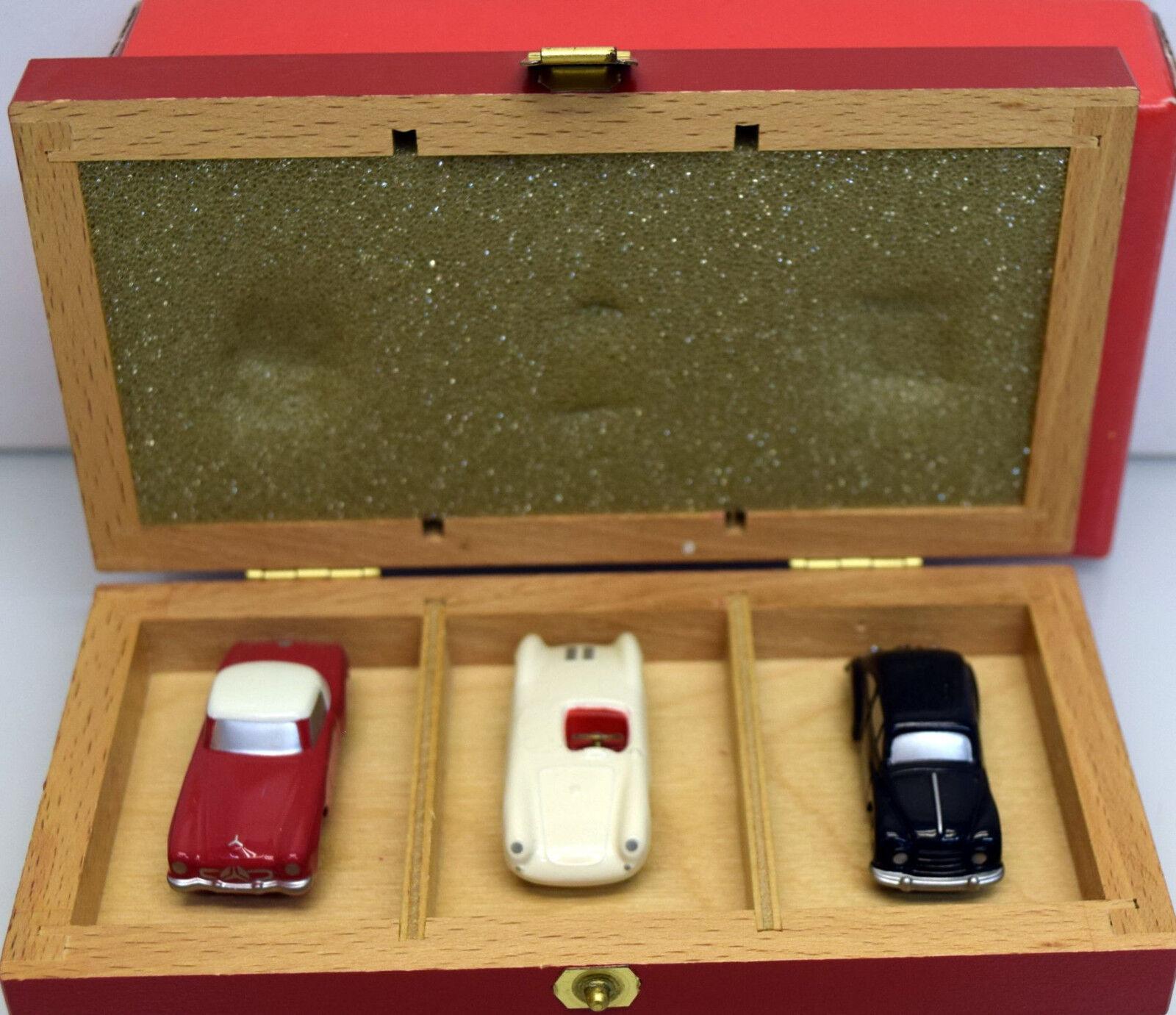 Schuco Piccolo 1 90 01195 SCHUCO PICCOLO SET 1997 avec 3 voitures particulières Modèles