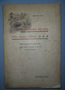 Albertina-Furno-Il-sentimento-del-mare-nella-poesia-italiana-Paravia-1905