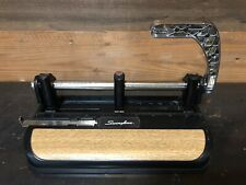 Swingline 32 Sheet Lever Handle 2 Or 3 Hole Heavy Duty Punch Model 350400 Vtg