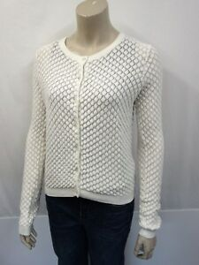 Blend 36 Size 38 Designer Cardigan Allude Cardigan New Cream Cotton qxwf8AXX