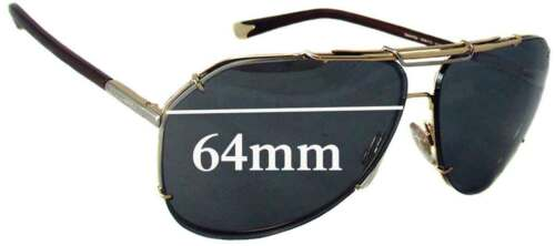 SFx Replacement Sunglass Lenses fits Dolce /& Gabbana DG2102-64mm wide